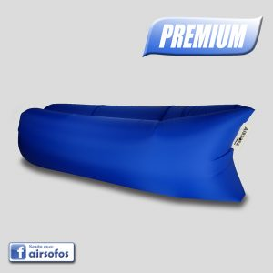 Mėlyna Airsofa Premium oro gultas ormaišis