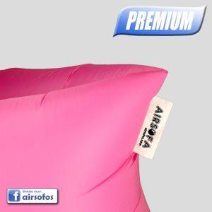 Rožinė Airsofa Premium oro gultas ormaišis